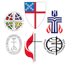 Icons for the 6 mainline Protestant denominations
